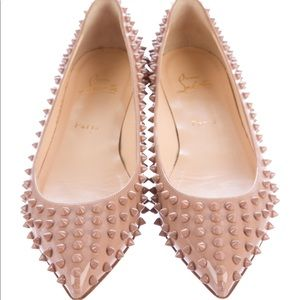 Christian Louboutin Pigalle Spike Flats